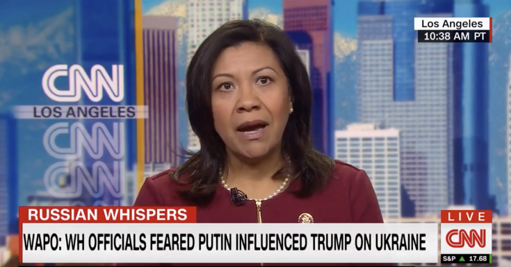 Dem Rep Says Putin Has Something on Trump, Presents No Evidence When Pressed