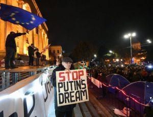 Georgia protests unrest