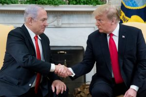 President Donald Trump Welcomes Israeli Prime Minister Benjamin Netanyahu To The White House
