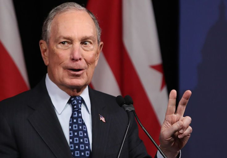 Bloomberg said in 2015 'all the crime' is in minority areas