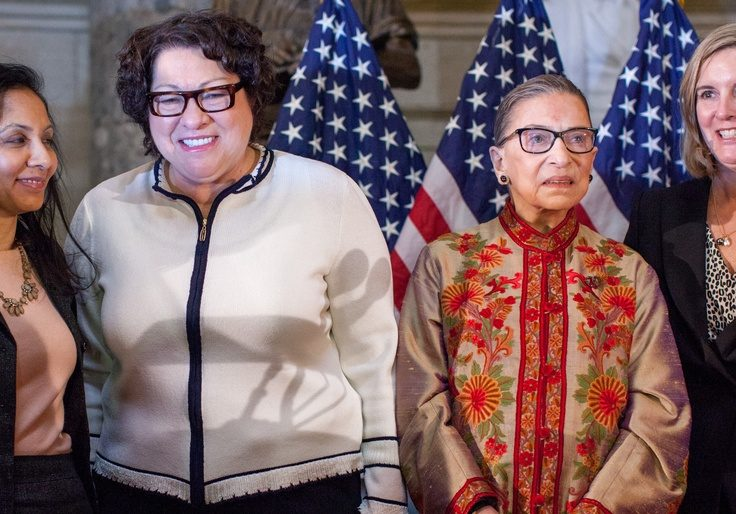 Trump says Sotomayor, Ginsberg must recuse themselves from cases related to him