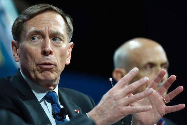 Green on Blue Attack: Quincy Institute Trashes Keynote Speaker David Petraeus
