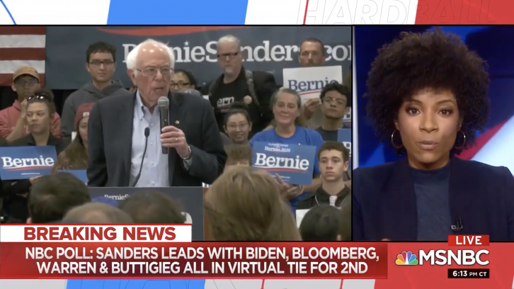 MSNBC Analyst: Sanders Hasn't Dealt With His Supporters' Sexism and Racism