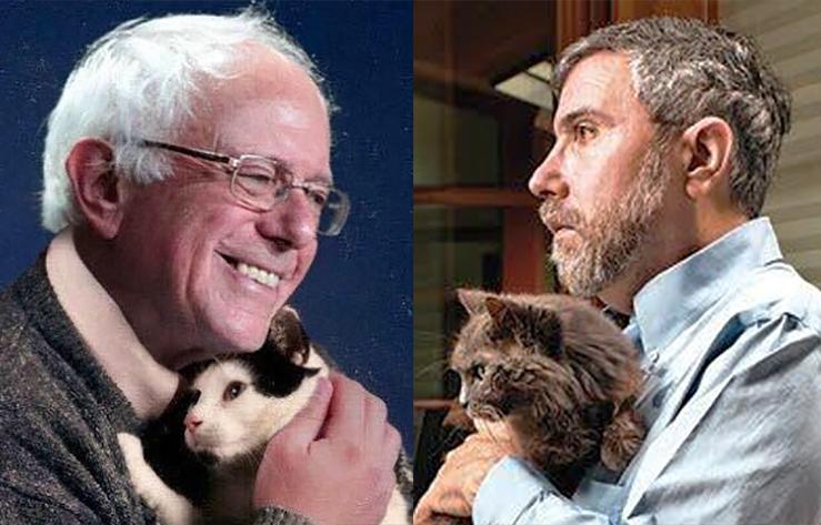 Paul Krugman Denies Bernie Sanders' Right to Self-Identify