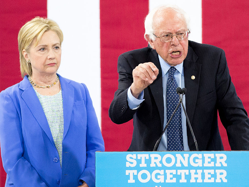 In Reversal, Hillary Clinton (Sort of) Pledges to Support Bitter Rival Bernie Sanders Against Trump