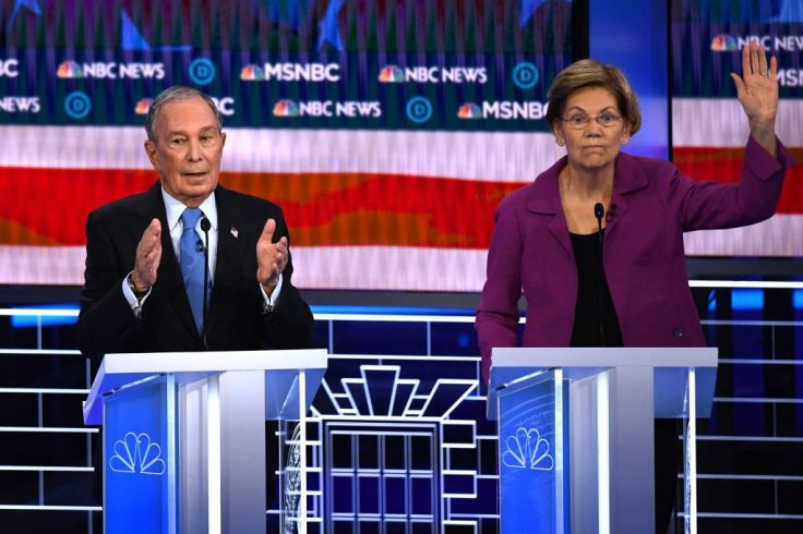 Bloomberg to Join Democratic Candidates in His First Debate in Nevada