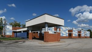 The exterior of the new Planned Parenthood Reproductive Clinic in Illinois