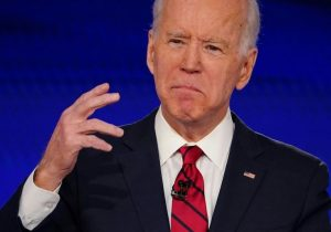 Democratic presidential candidate Joe Biden
