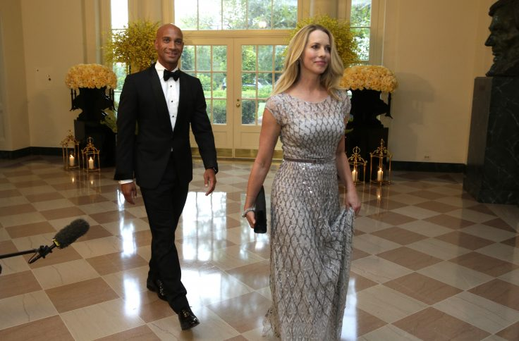 Laurene Powell Jobs and former Washington mayor Adrian Fenty