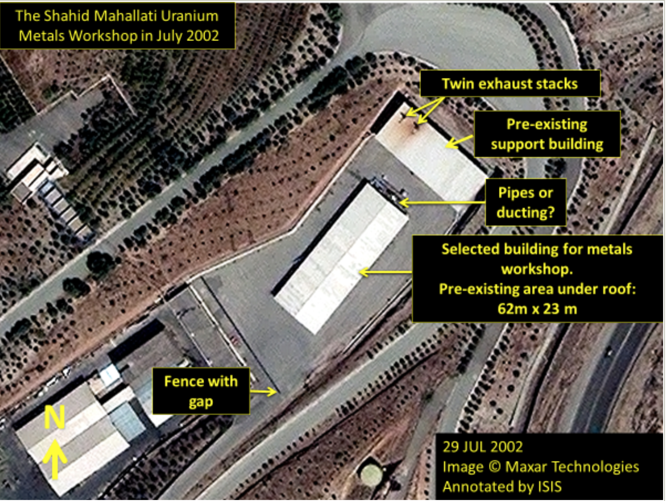 Previously Undisclosed Iranian Nuclear Weapons Site Identified