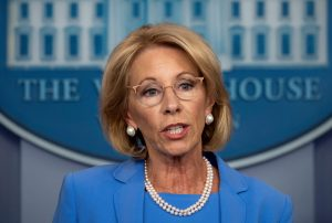 Secretary of Education Betsy DeVos
