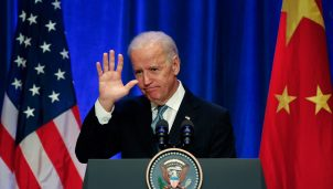 U.S Vice President Joe Biden Visits China
