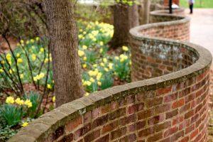 UVA serpentine walls