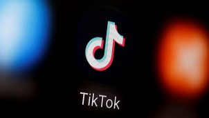 FILE PHOTO: A TikTok logo is displayed on a smartphone in this illustration