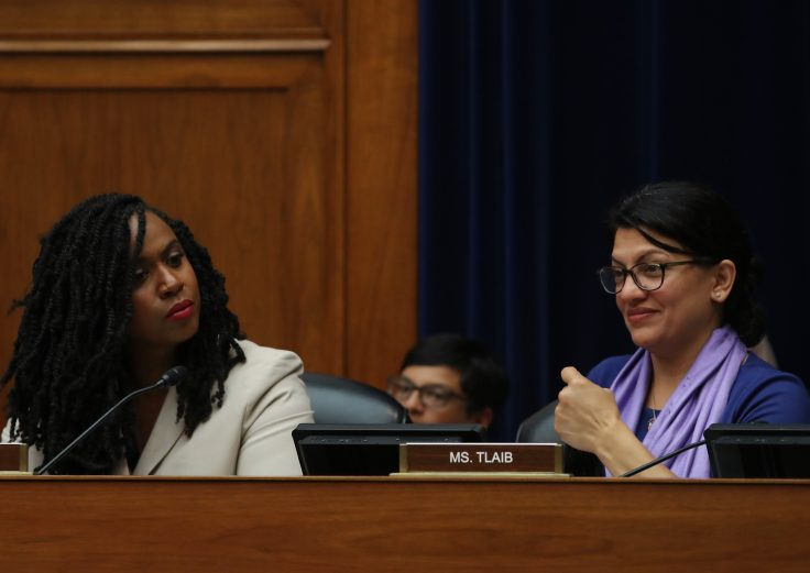Rep. Ayanna Pressley and Rep. Rashida Tlaib