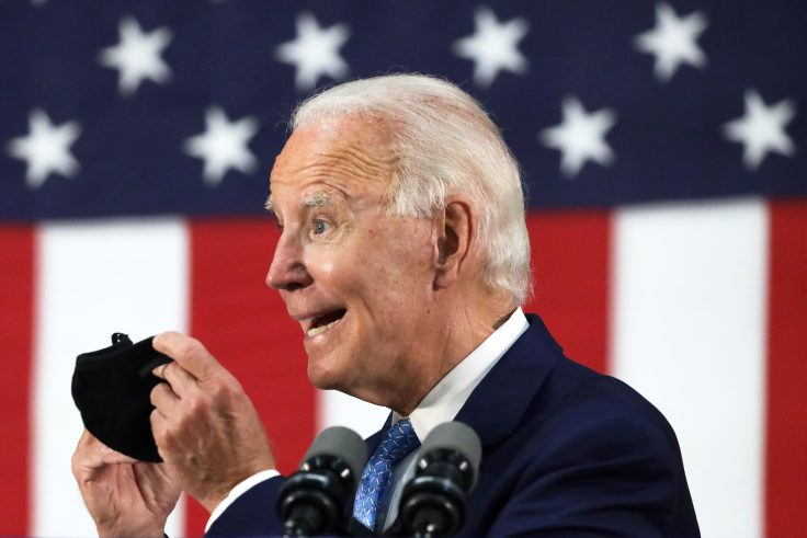 Presidential Candidate Joe Biden Delivers Remarks In Delaware