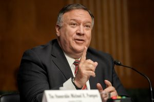 Secretary Of State Pompeo Testifies On Department's Budget Request Before Senate Foreign Relations Committee
