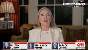 Hillary Clinton at DNC