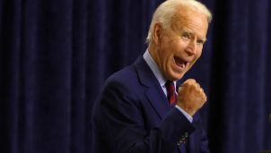 Democratic Presidential Nominee Joe Biden Speaks In Wilmington, Delaware