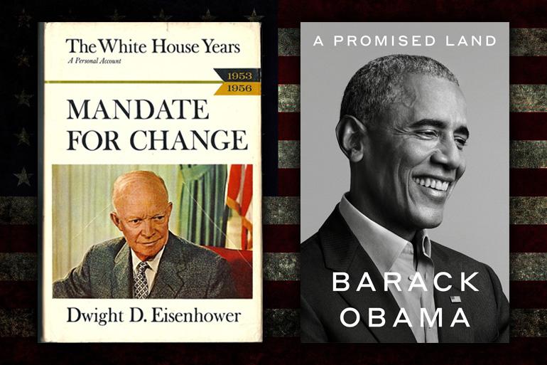Obama to Become First POTUS Since Eisenhower to Publish Multi-Volume White House Memoir - Washington Free Beacon