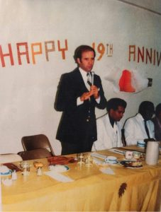 Joe Biden speaks at Rev. Herring's 19th pastoral anniversary in 1981