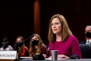 Supreme Court justice nominee Judge Amy Coney Barrett