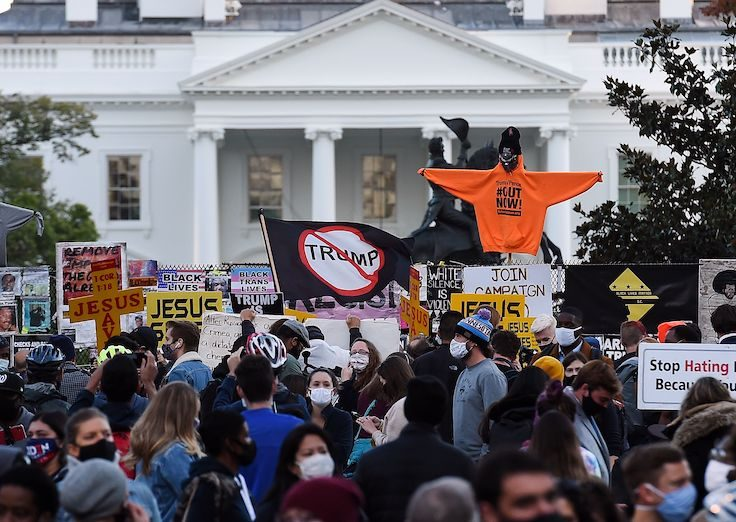 WH protest