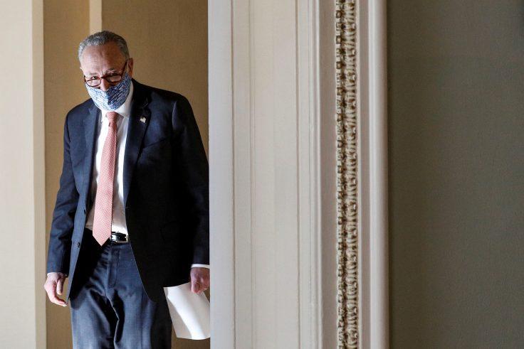 Senate Majority Leader Chuck Schumer