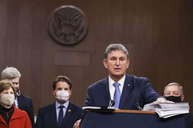 Manchin, Moderate Dems Defy Party's Push to Eliminate Filibuster - Washington Free Beacon