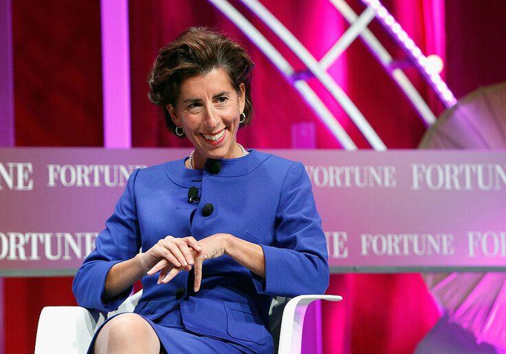 Biden taps Rhode Island Gov. Gina Raimondo for commerce