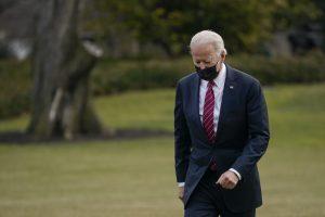 President Biden Returns To White House From Walter Reed