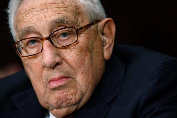 Kissinger: Biden Must Uphold Trump Admin's 'Brilliant' Success in the Middle East - Washington Free Beacon