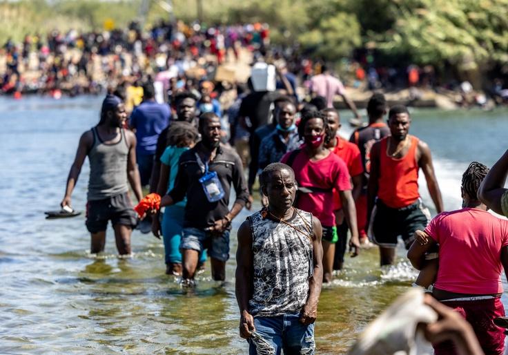 Biden's Scramble to Control Del Rio Crisis Leaves Large Border Sections Unguarded